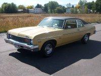Chevrolet Nova, 3 поколение [3-й рестайлинг], Купе, 1973–1974
