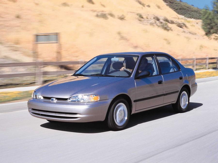 Chevrolet Prizm седан, 1998–2002, 1 поколение - отзывы, фото и характеристики на Car.ru