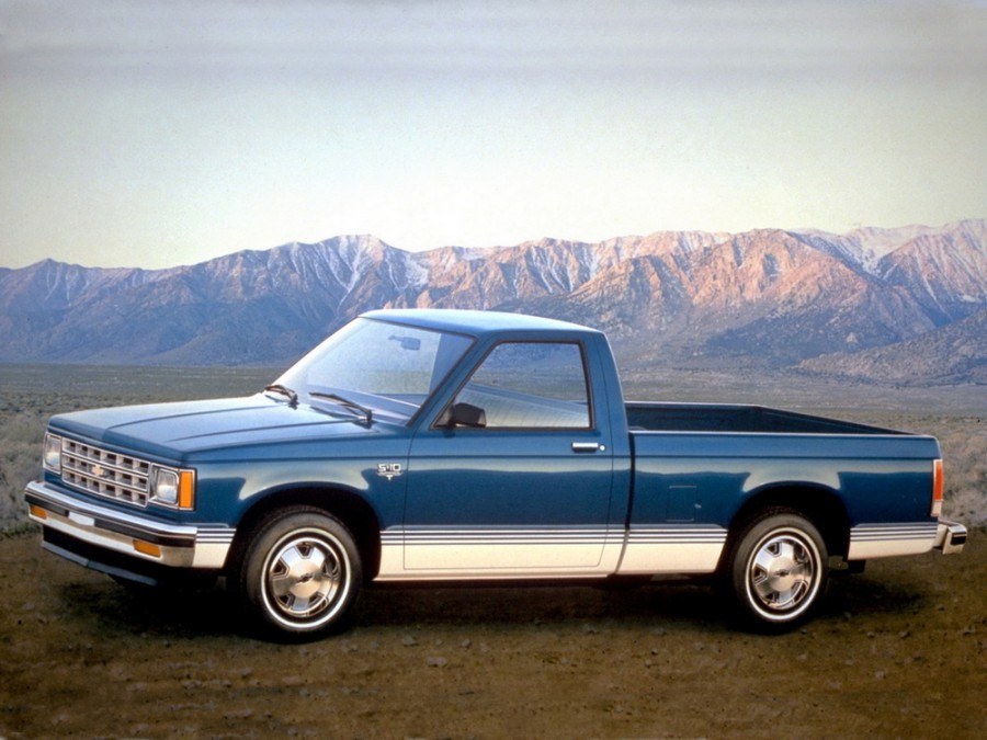 Chevrolet S10 Regular Cab пикап 2-дв., 1982–1993, 1 поколение - отзывы, фото и характеристики на Car.ru