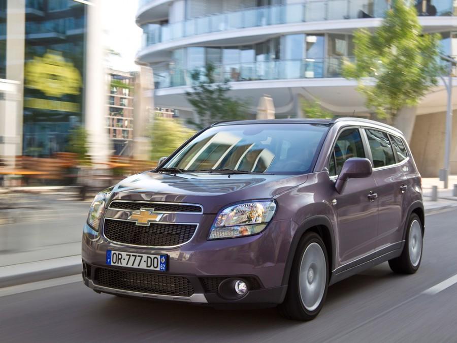 Chevrolet Orlando минивэн, 2010–2016, 1 поколение - отзывы, фото и характеристики на Car.ru
