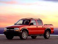 Chevrolet S10, 2 поколение [рестайлинг], Crew cab пикап 4-дв., 1998–2004