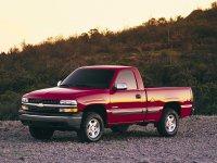 Chevrolet Silverado, GMT800, Regular cab пикап 2-дв., 1999–2002