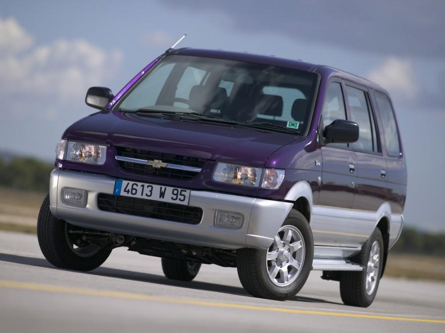 Chevrolet Tavera минивэн, 2004–2012, 1 поколение - отзывы, фото и характеристики на Car.ru