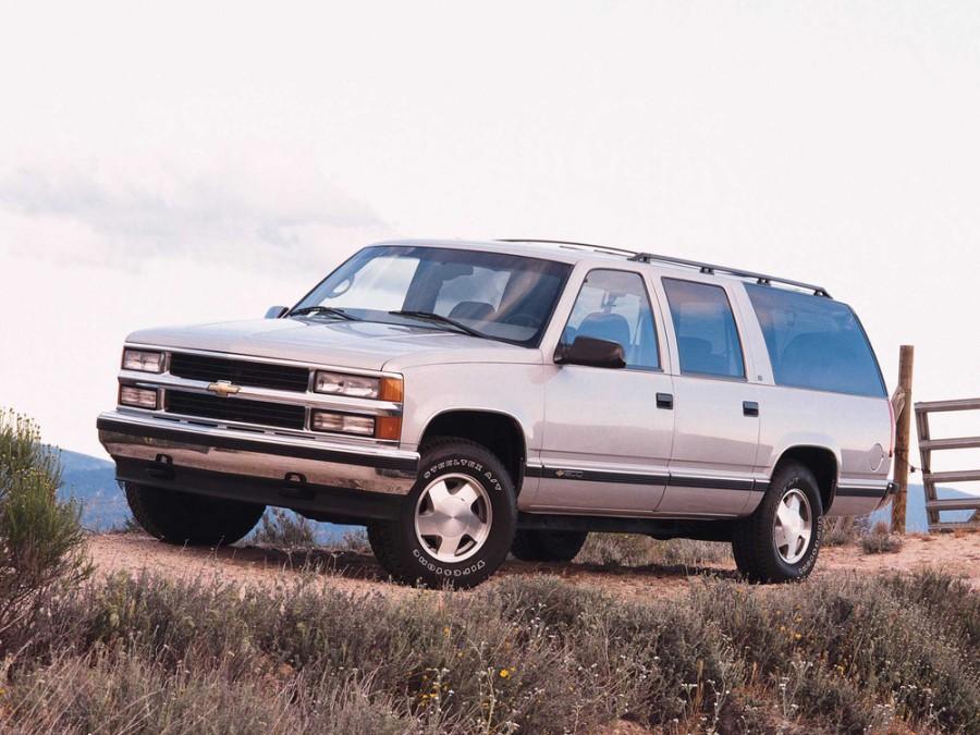 Chevrolet Suburban внедорожник, 1992–1999, GMT400 - отзывы, фото и характеристики на Car.ru