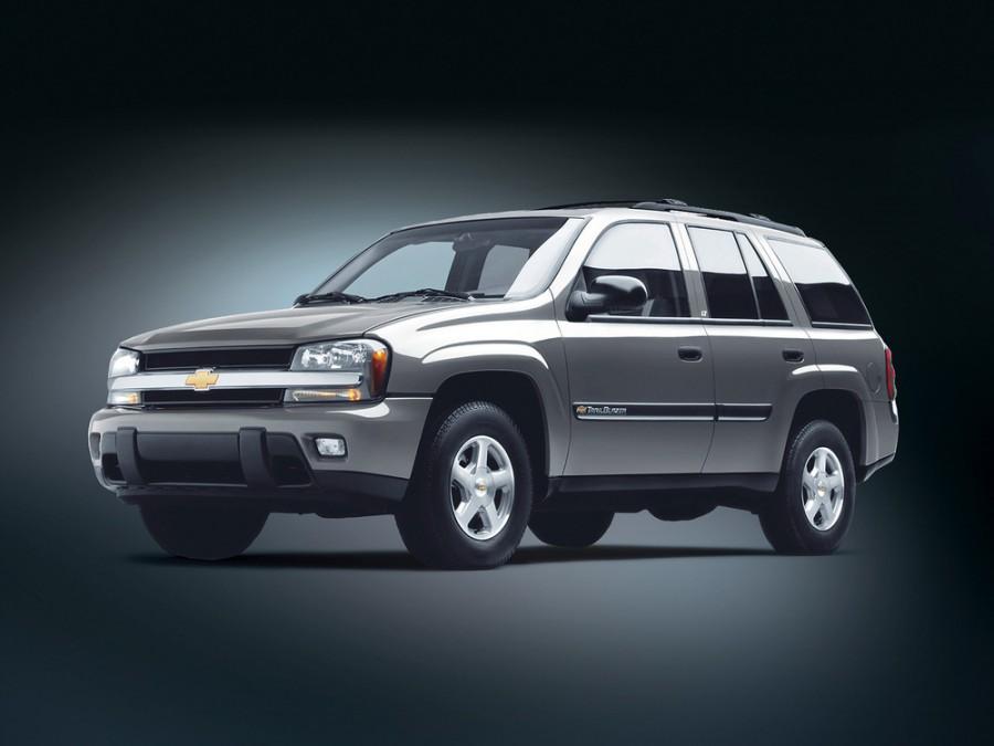 Chevrolet TrailBlazer внедорожник 5-дв., 2002–2009, 1 поколение - отзывы, фото и характеристики на Car.ru