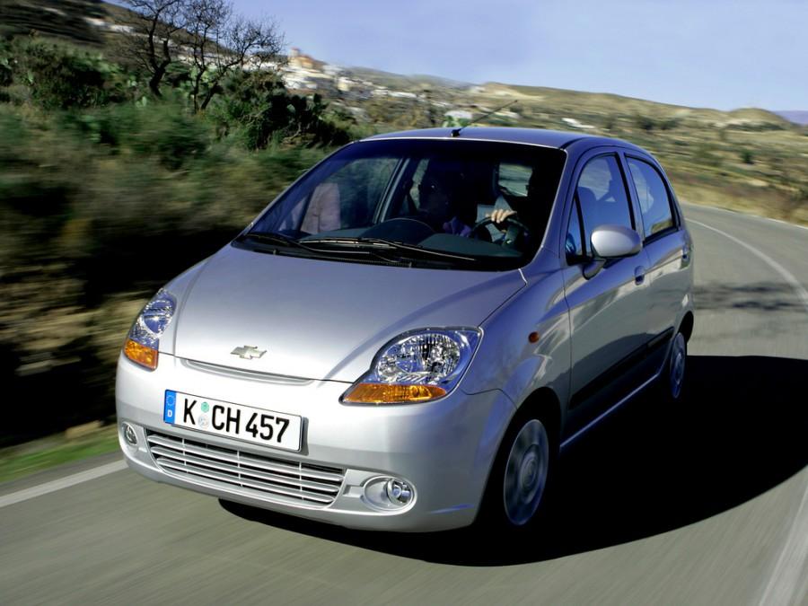 Chevrolet Spark хетчбэк, 2005–2010, M200 - отзывы, фото и характеристики на Car.ru