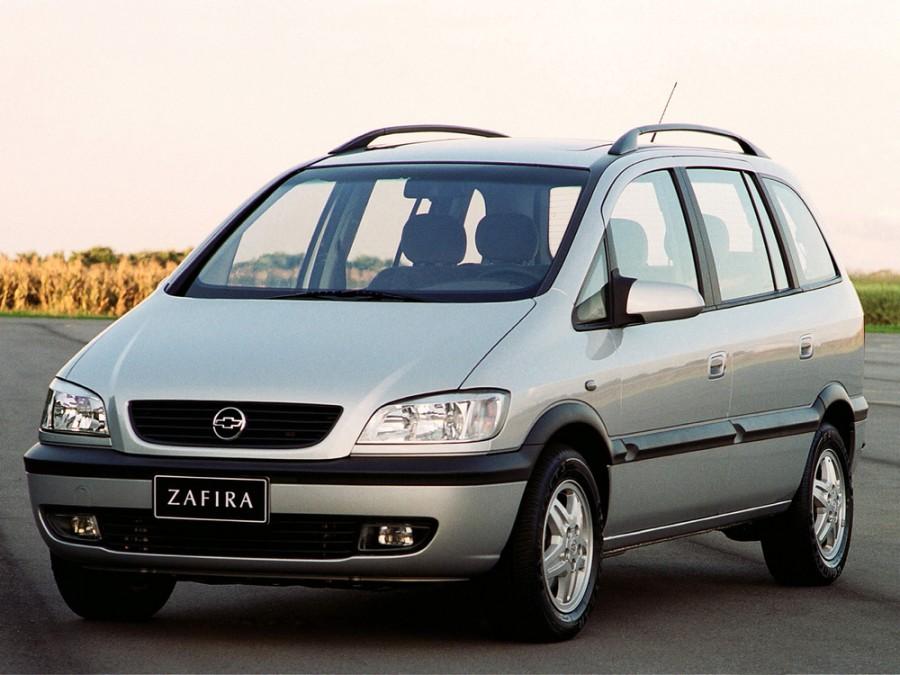 Chevrolet Zafira минивэн, 2001–2004, 1 поколение - отзывы, фото и характеристики на Car.ru