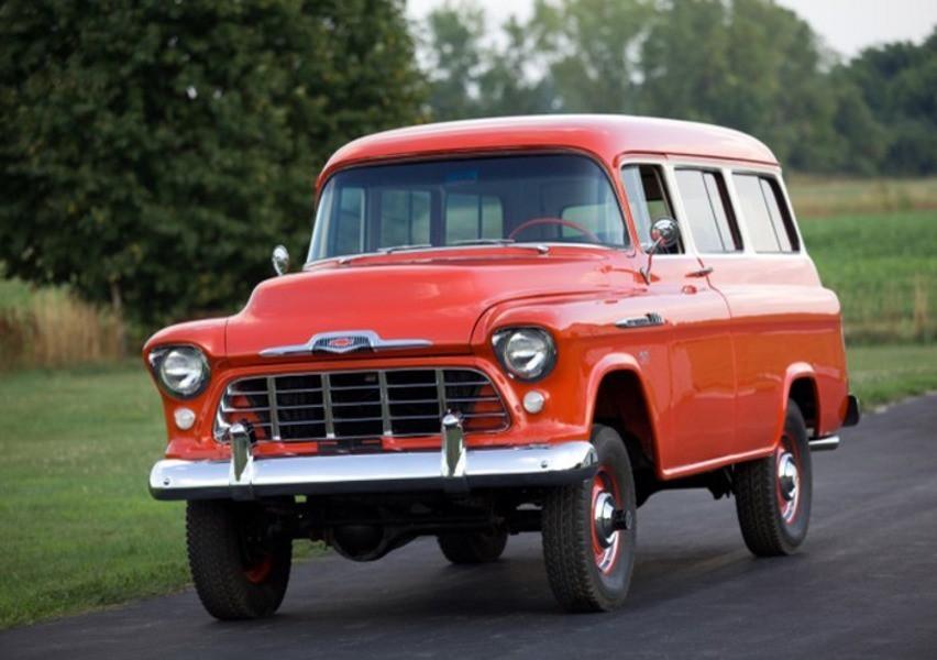 Chevrolet Suburban внедорожник, 1955–1959, 5 поколение - отзывы, фото и характеристики на Car.ru