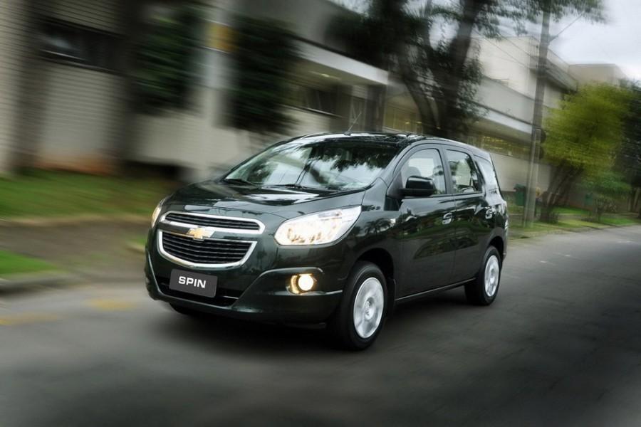 Chevrolet Spin минивэн, 2012–2016, 1 поколение - отзывы, фото и характеристики на Car.ru