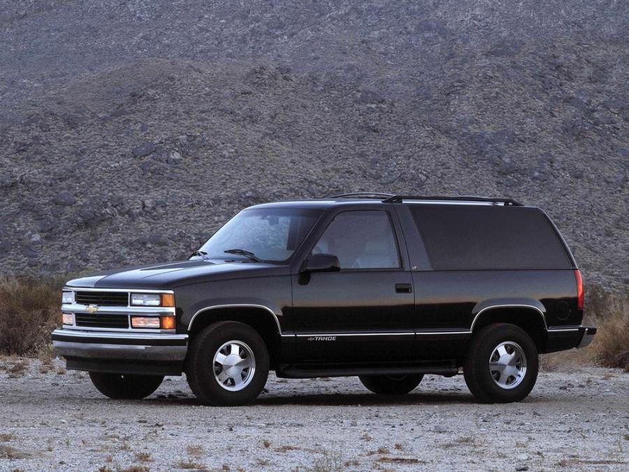 Chevrolet Tahoe внедорожник 3-дв., 1995–1999, GMT400 - отзывы, фото и характеристики на Car.ru