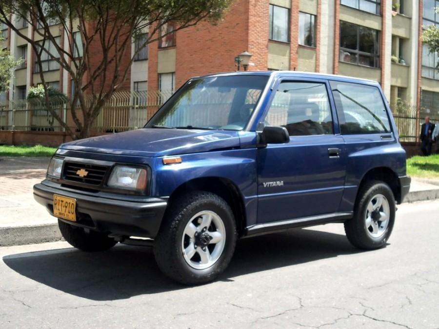 Chevrolet Vitara внедорожник, 1996–2016, 1 поколение - отзывы, фото и характеристики на Car.ru