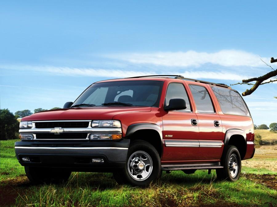 Chevrolet Suburban внедорожник, 2000–2005, GMT800 - отзывы, фото и характеристики на Car.ru