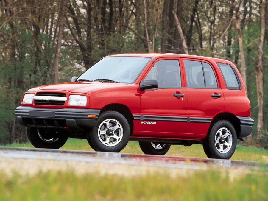 Chevrolet Tracker внедорожник, 1998–2004, 2 поколение - отзывы, фото и характеристики на Car.ru