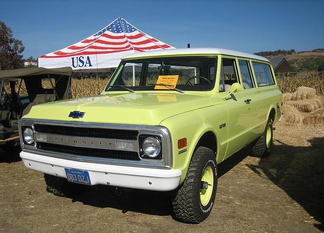 Chevrolet Suburban внедорожник, 1967–1970, 7 поколение - отзывы, фото и характеристики на Car.ru