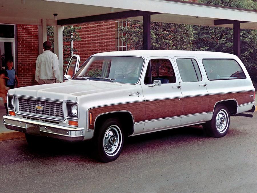Chevrolet Suburban внедорожник, 1973–1980, 8 поколение - отзывы, фото и характеристики на Car.ru