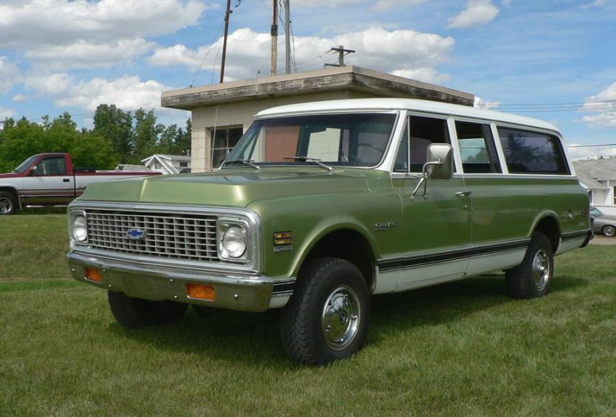 Chevrolet Suburban внедорожник, 1971–1972, 7 поколение [рестайлинг] - отзывы, фото и характеристики на Car.ru