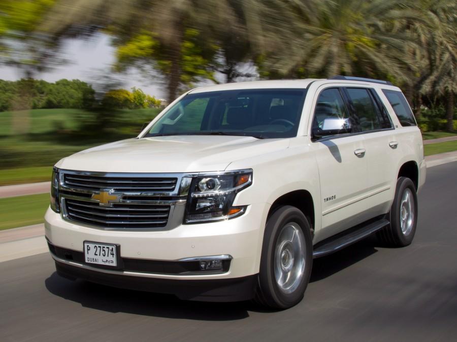 Chevrolet Tahoe внедорожник 5-дв., 2013–2016, 4 поколение - отзывы, фото и характеристики на Car.ru