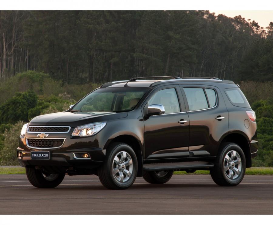 Chevrolet TrailBlazer внедорожник, 2012–2016, 2 поколение - отзывы, фото и характеристики на Car.ru