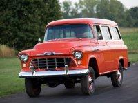 Chevrolet Suburban, 5 поколение, Внедорожник, 1955–1959