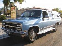 Chevrolet Suburban, 8 поколение [2-й рестайлинг], Внедорожник, 1989–1991