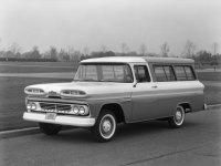 Chevrolet Suburban, 6 поколение, Внедорожник, 1960–1962