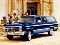 Chevrolet Suburban, 8 поколение [рестайлинг], Внедорожник, 1981–1988