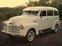 Chevrolet Suburban, 4 поколение, Внедорожник, 1947–1955