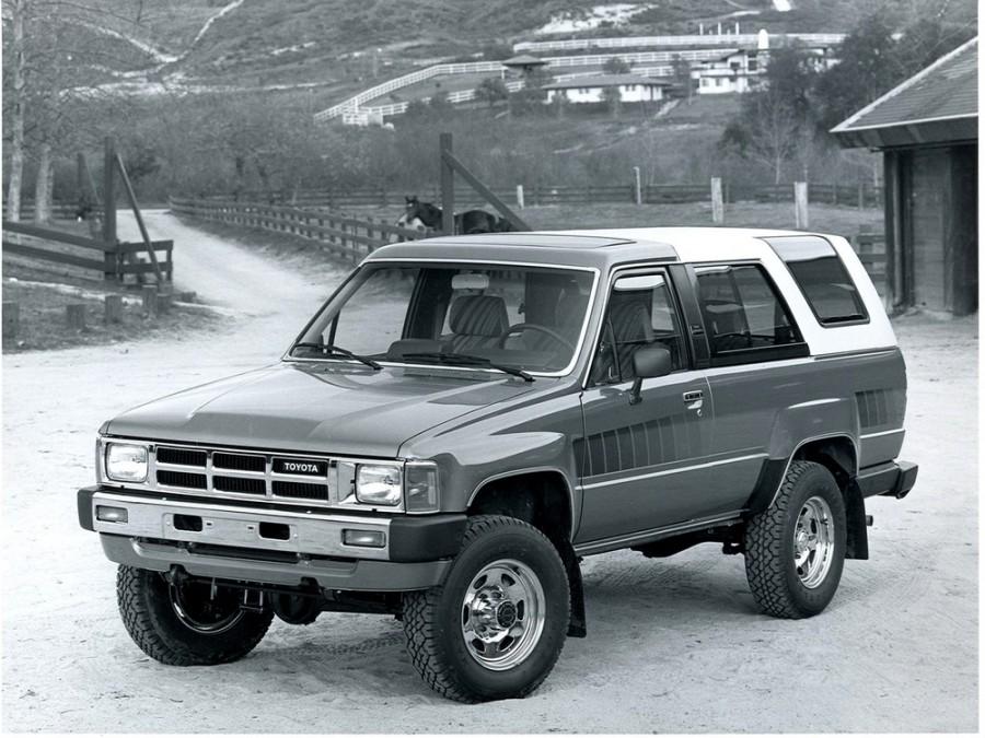 Toyota 4Runner пикап, 1984–1989, 1 поколение - отзывы, фото и характеристики на Car.ru