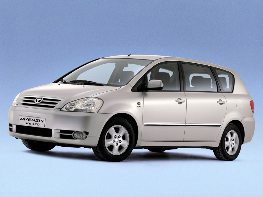 Toyota Avensis Verso минивэн, 2001–2003, 1 поколение - отзывы, фото и характеристики на Car.ru