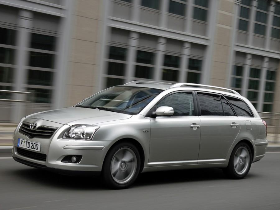 Toyota Avensis универсал, 2006–2008, 2 поколение [рестайлинг] - отзывы, фото и характеристики на Car.ru