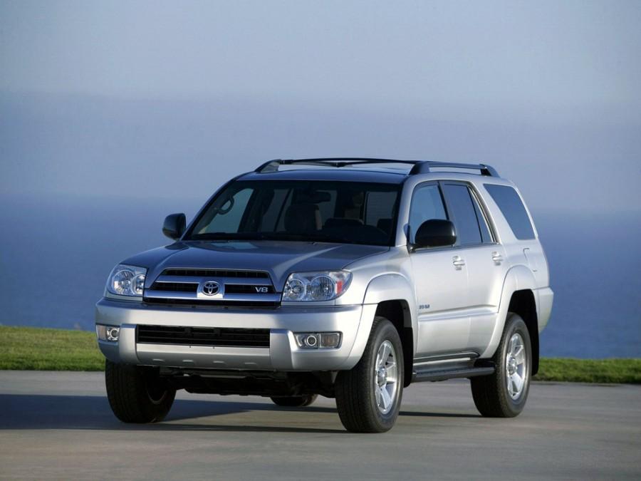 Toyota 4Runner внедорожник, 2003–2009, 4 поколение - отзывы, фото и характеристики на Car.ru
