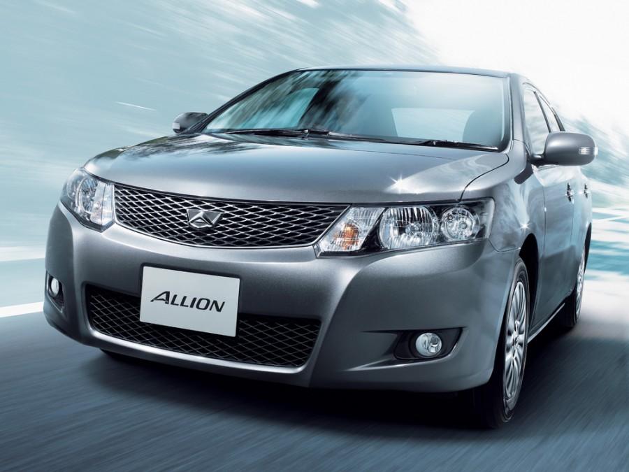Toyota Allion седан, 2007–2009, T260 - отзывы, фото и характеристики на Car.ru