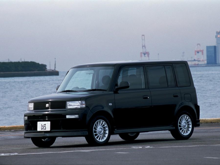Toyota bB минивэн, 2000–2003, 1 поколение - отзывы, фото и характеристики на Car.ru