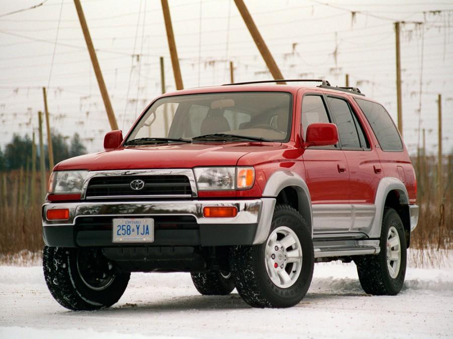 Toyota 4Runner внедорожник 5-дв., 1995–2003, 3 поколение - отзывы, фото и характеристики на Car.ru