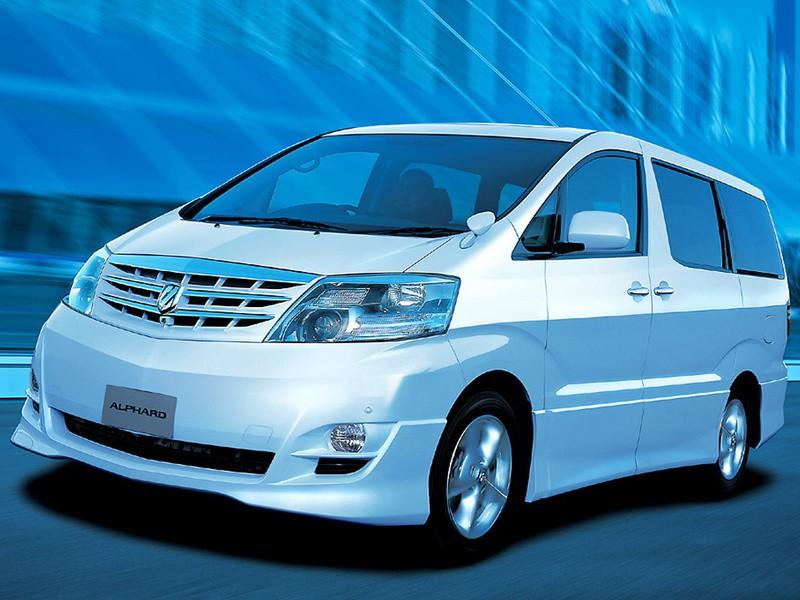 Toyota Alphard минивэн, 2004–2008, 1 поколение [рестайлинг] - отзывы, фото и характеристики на Car.ru