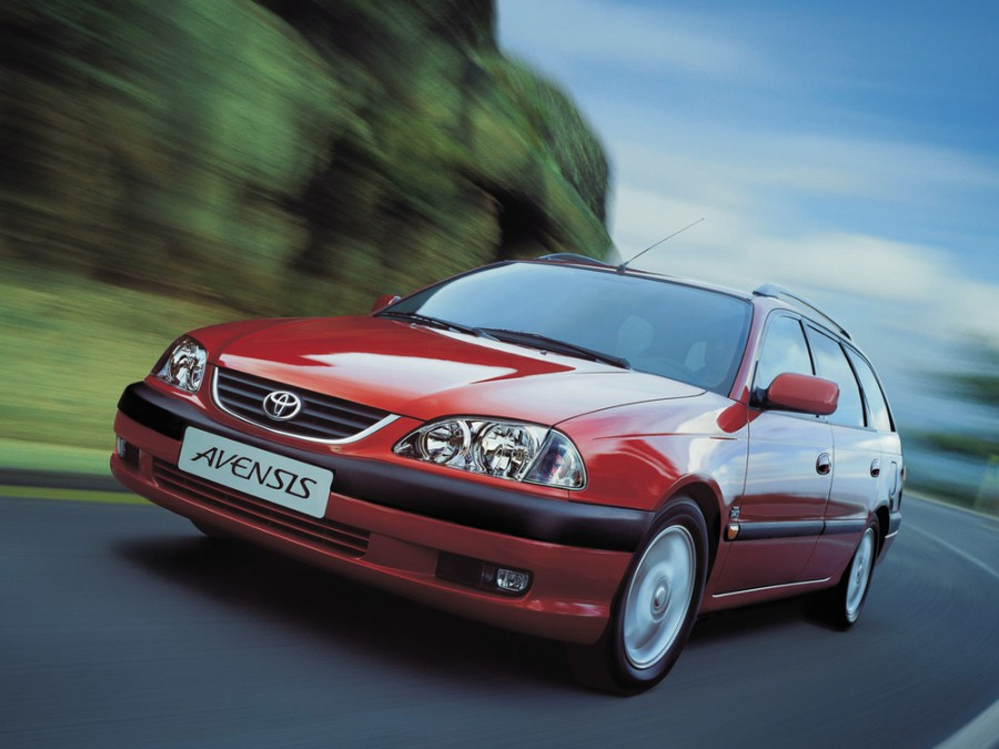Toyota Avensis универсал, 2000–2003, 1 поколение [рестайлинг] - отзывы, фото и характеристики на Car.ru