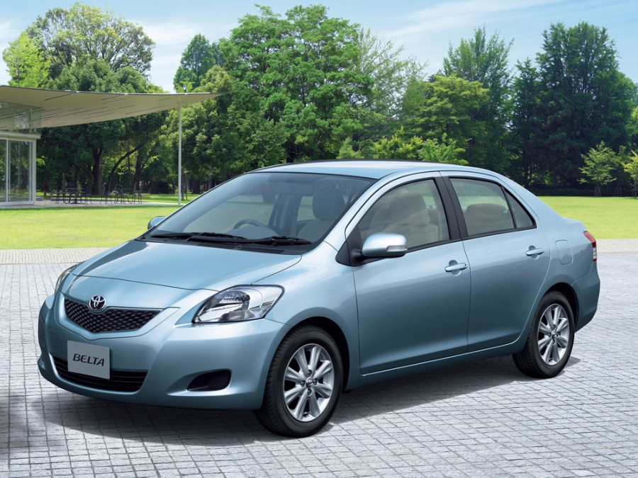 Toyota Belta седан, 2008–2012, XP90 [рестайлинг] - отзывы, фото и характеристики на Car.ru