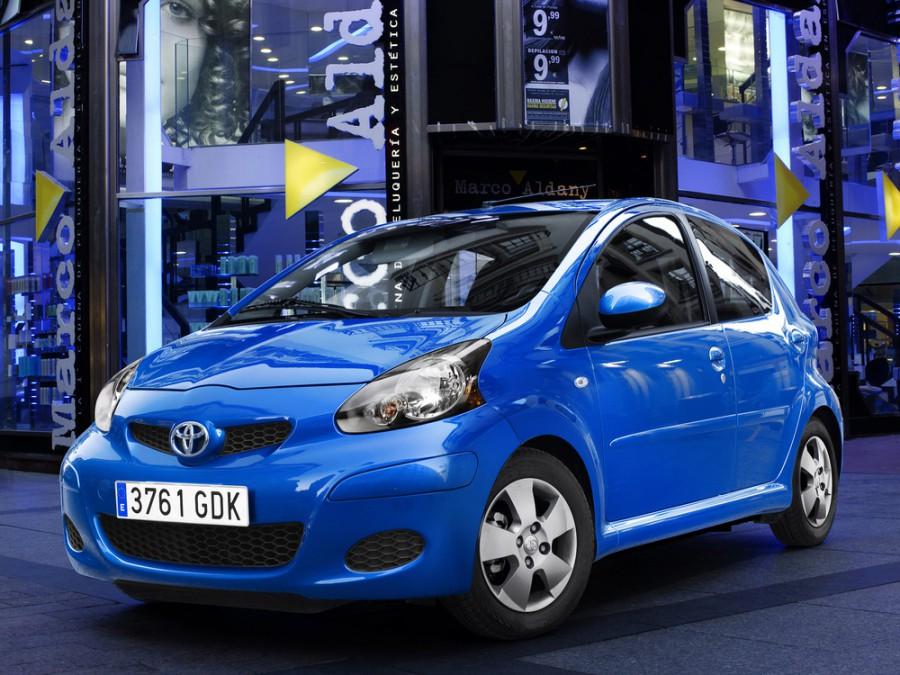Toyota Aygo хетчбэк, 2008–2016, 1 поколение [рестайлинг] - отзывы, фото и характеристики на Car.ru