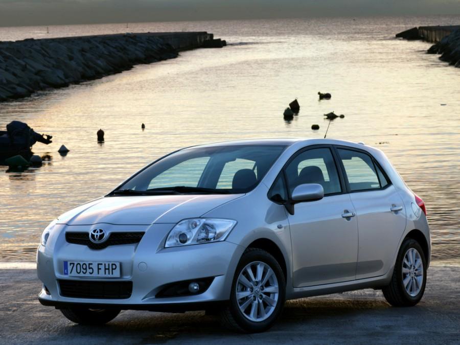 Toyota Auris хетчбэк 5-дв., 2006–2009, 1 поколение - отзывы, фото и характеристики на Car.ru