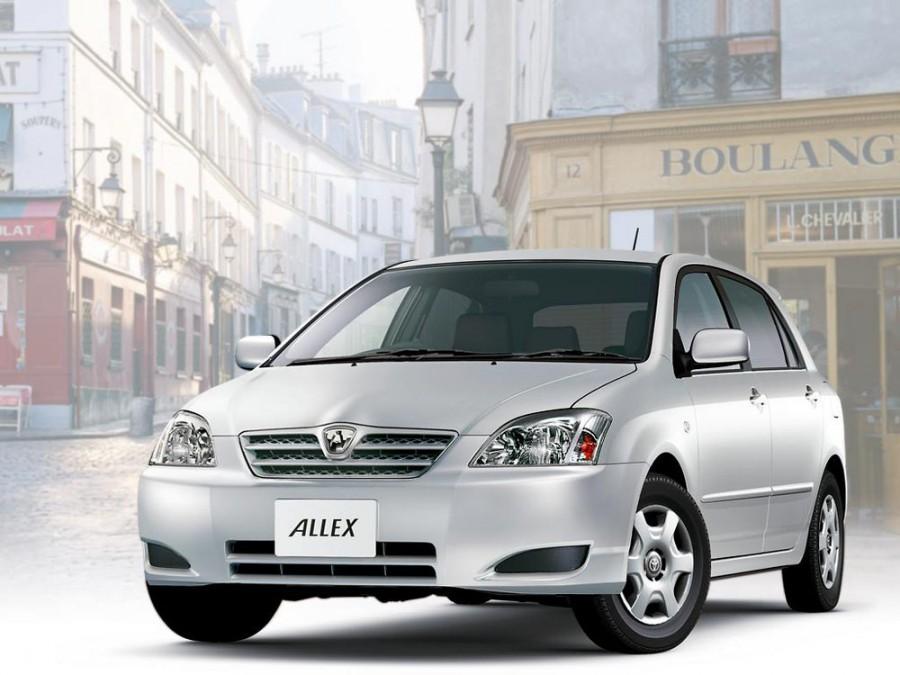 Toyota Allex хетчбэк, 2002–2004, E120 [рестайлинг] - отзывы, фото и характеристики на Car.ru