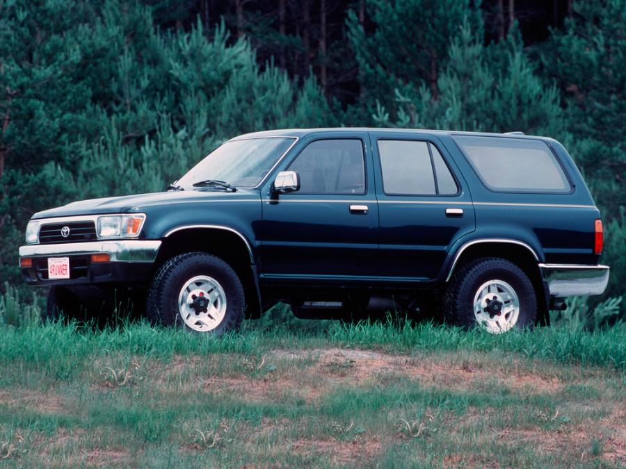 Toyota 4Runner внедорожник 5-дв., 2 поколение [рестайлинг] - отзывы, фото и характеристики на Car.ru