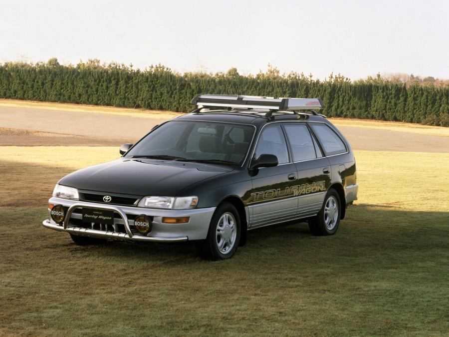 Toyota Corolla JDM универсал 5-дв., 1991–1999, E100 - отзывы, фото и характеристики на Car.ru