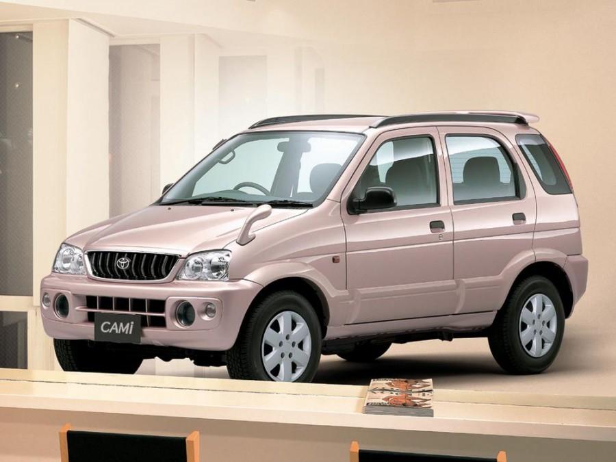 Toyota Cami кроссовер, 1999–2005, 1 поколение - отзывы, фото и характеристики на Car.ru
