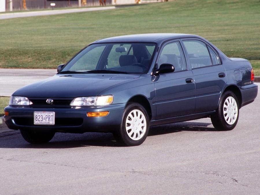 Toyota Corolla седан, 1991–1999, E100 - отзывы, фото и характеристики на Car.ru