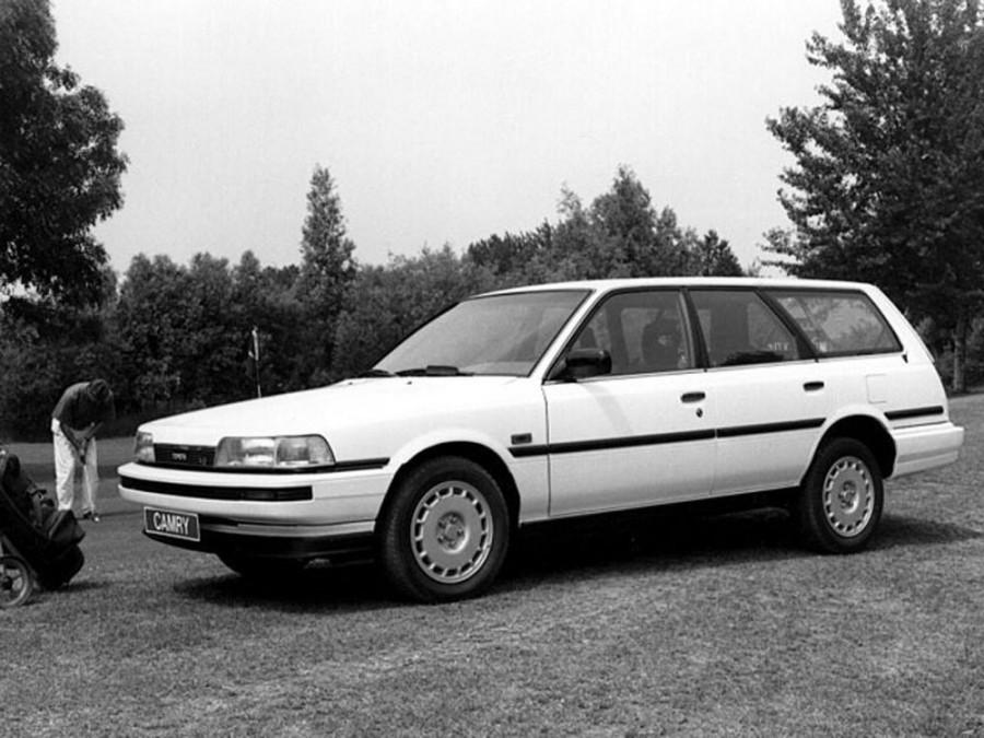 Toyota Camry универсал, 1986–1991, V20 - отзывы, фото и характеристики на Car.ru