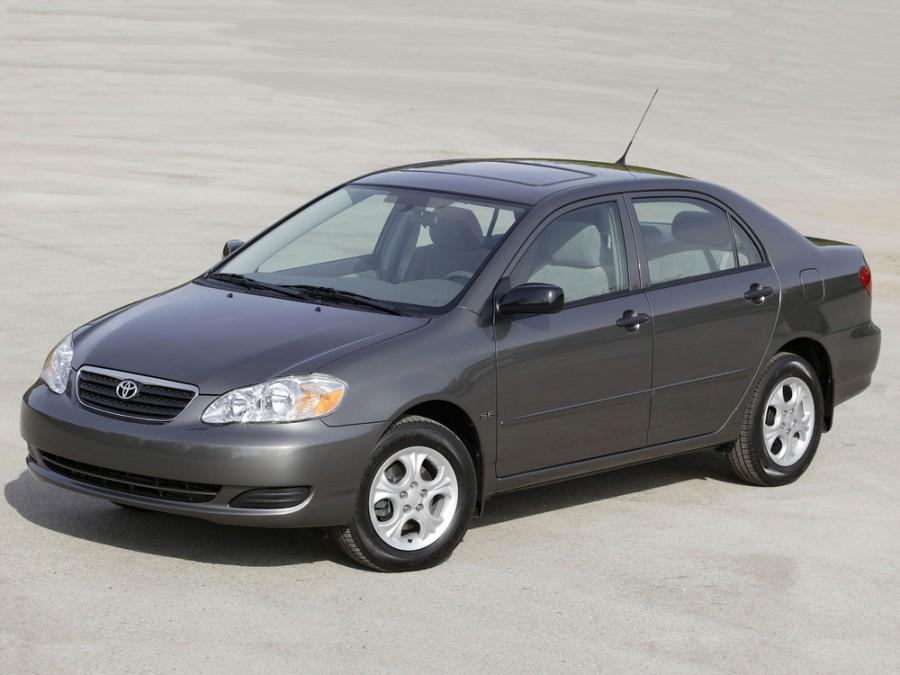 Toyota Corolla US-Spec. седан 4-дв., 2000–2008, E120 - отзывы, фото и характеристики на Car.ru
