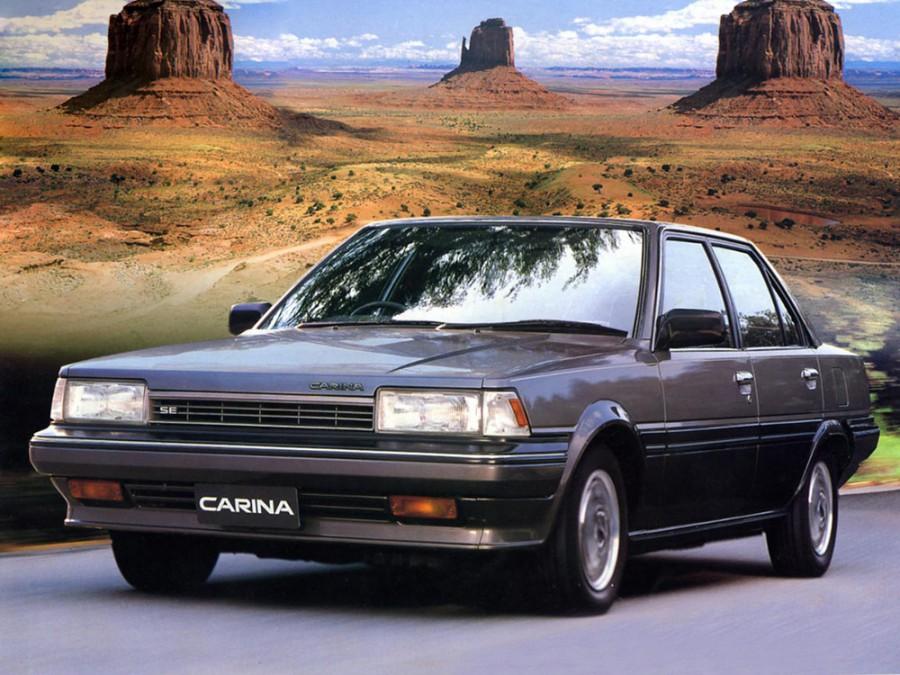 Toyota Carina JDM седан 4-дв., 1984–1986, T150 - отзывы, фото и характеристики на Car.ru