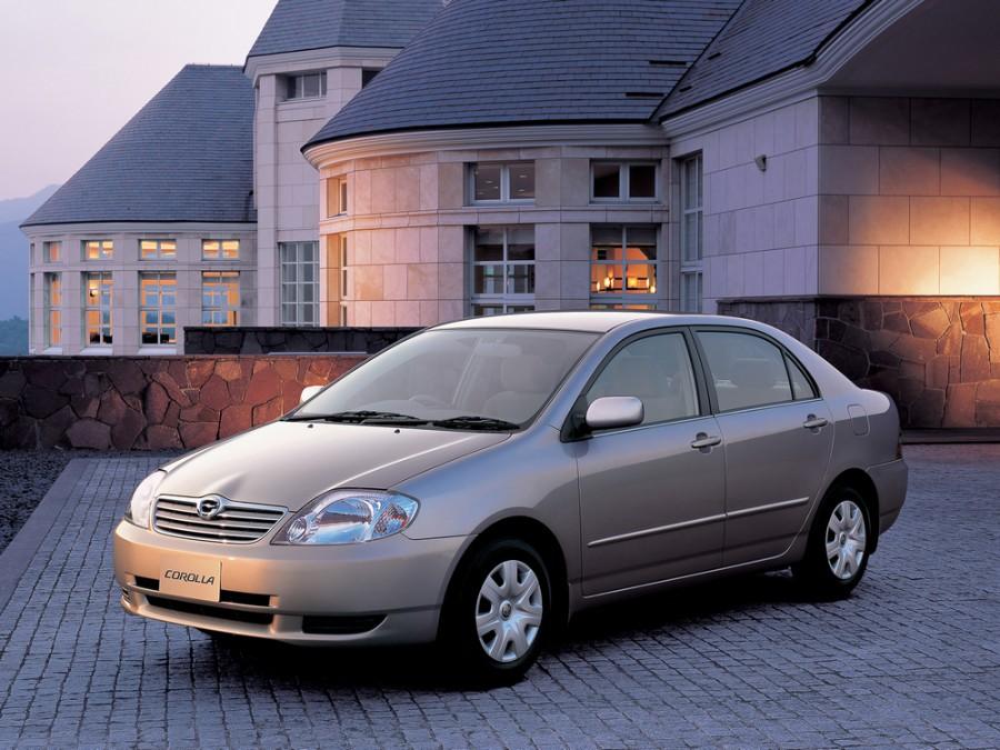 Toyota Corolla JDM седан 4-дв., 2000–2008, E120 - отзывы, фото и характеристики на Car.ru