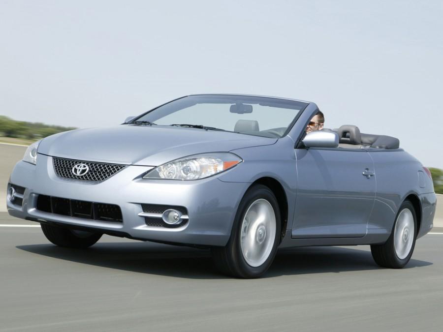 Toyota Solara кабриолет, 2006–2009, XV30 [рестайлинг] - отзывы, фото и характеристики на Car.ru
