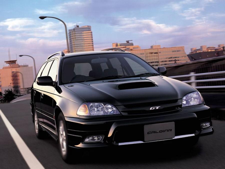 Toyota Caldina универсал, 2000–2002, 2 поколение [рестайлинг] - отзывы, фото и характеристики на Car.ru